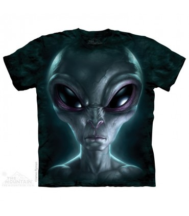 Grey Alien - Sci-Fi T Shirt The Mountain