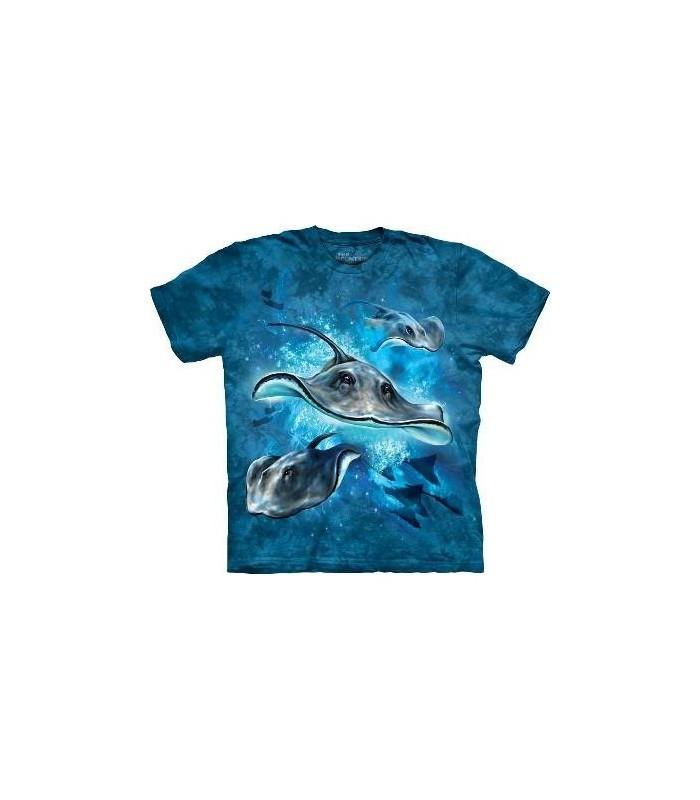 T-Shirt Raies par The Mountain