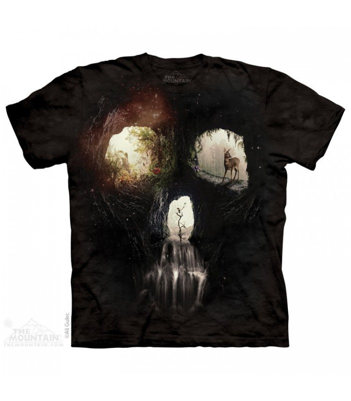 Cave Skull - Nature t-shirt The Mountain
