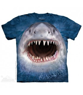 Wicked Nasty Shark - Aquatic T Shirt The Mountain