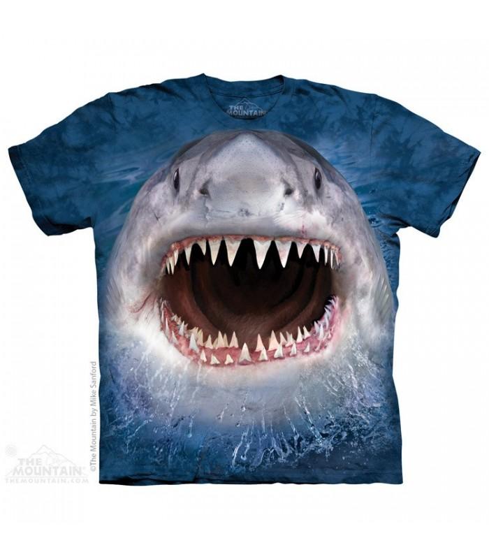 T-shirt Méchant Requin The Mountain