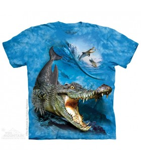 Crocodolphin - T-shirt Animaux Mixés The Mountain