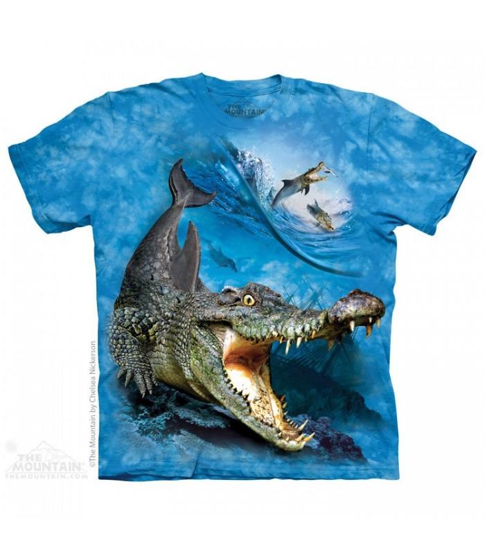 Crocodolphin - T-shirt Animaux Mixés The Mountain