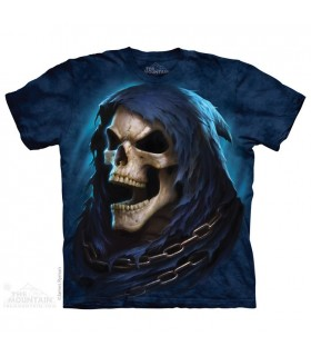 Reaper Last Laugh - Skull T Shirt The Mountain