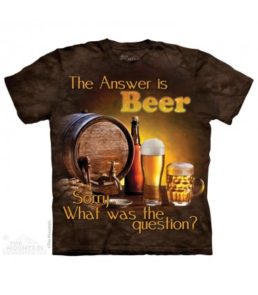 Beer Outdoor - Drink T Shirt The Mountain