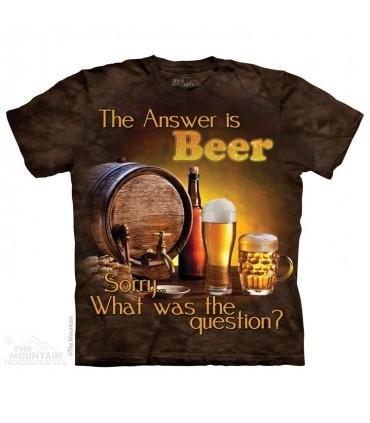 Boire une Bière - T-shirt Boisson The Mountain