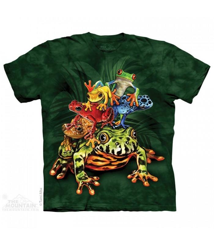T-shirt Tas de Grenouilles par The Mountain