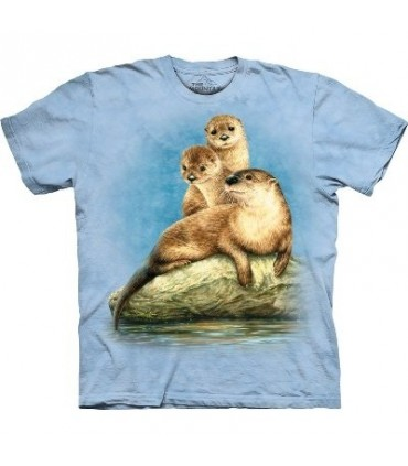 Three Otters - Zoo Shirt The Mountain