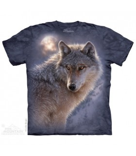 Loup à l'aventure - T-shirt animal The Mountain