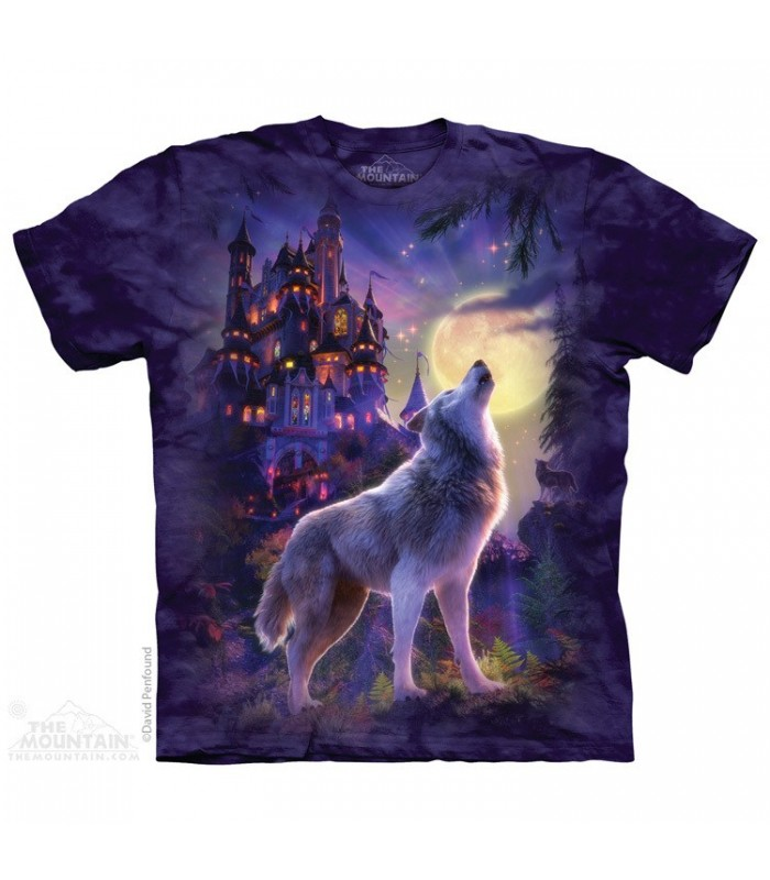 T-shirt Loup et Chateau The Mountain
