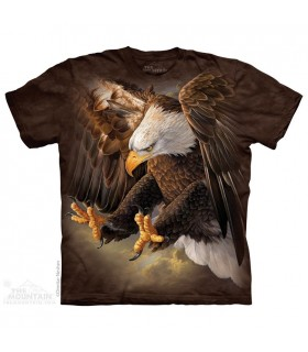 Freedom Eagle - Bird T Shirt The Mountain