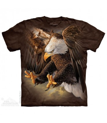 Freedom Eagle - Bird T Shirt The Mountain