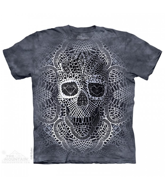 Lace Skull - Fantasy T Shirt The Mountain
