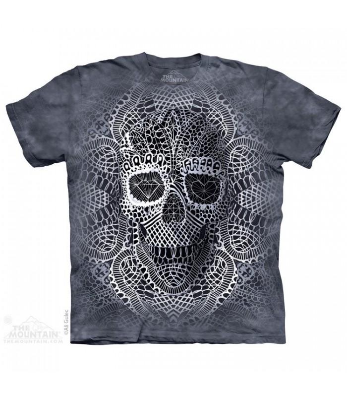 T-shirt Crâne en Dentelle The Mountain