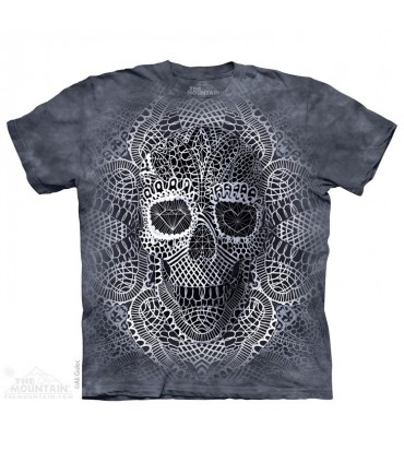 Lace Skull - Fantasy T Shirt The Mountain