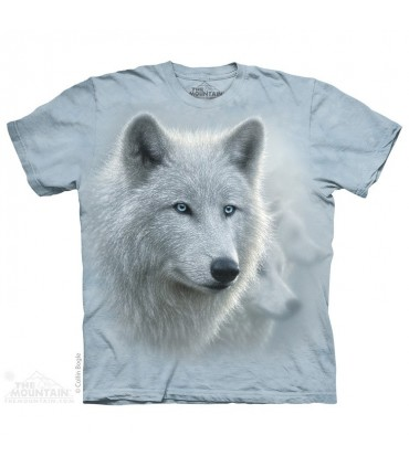 White Out - Wolf T Shirt The Mountain