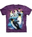 T-Shirt Pingouins Empereur par The Mountain