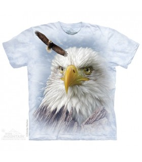 T-shirt Aigle des Montagnes The Mountain