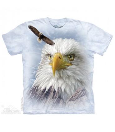 T-shirt Aigle des Montagnes The Mountain