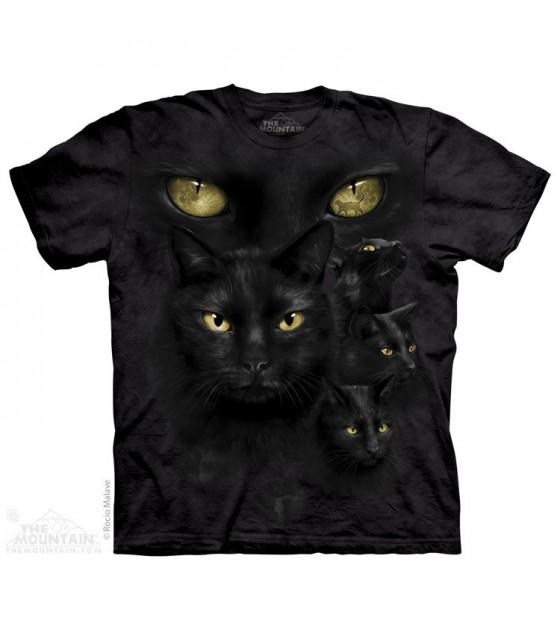 Black Cat Moon Eyes - Pet T