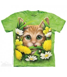 T-Shirt Chaton au Printemps The Mountain