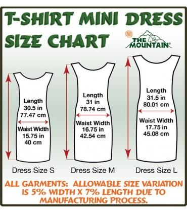e Summer Survival Kit - Womens Mini Dress The Mountain