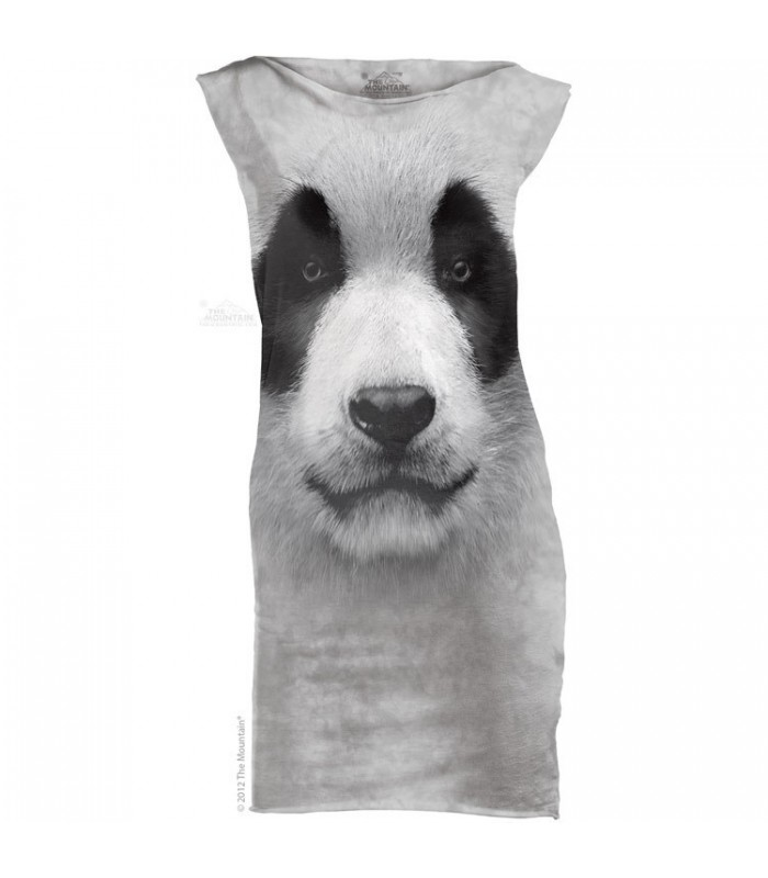 g Face Panda - Womens Mini Dress The Mountain