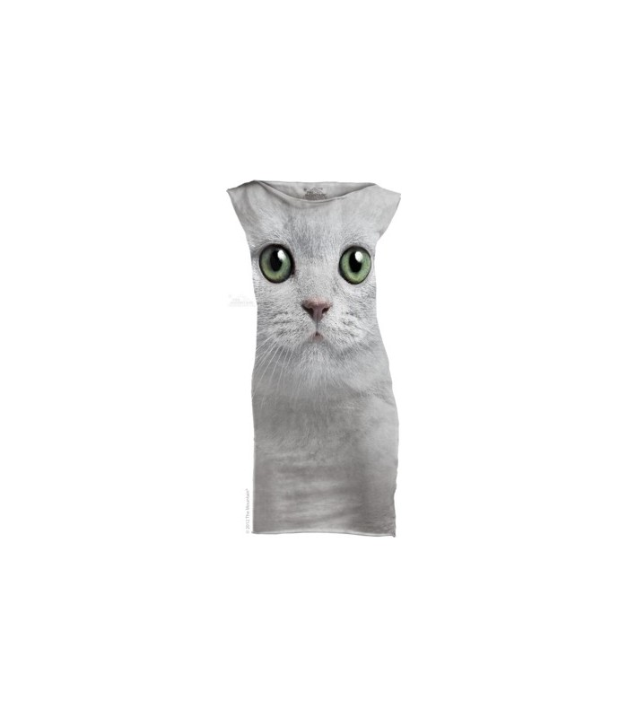 Mini Robe Chat aux Yeux Verts The Mountain
