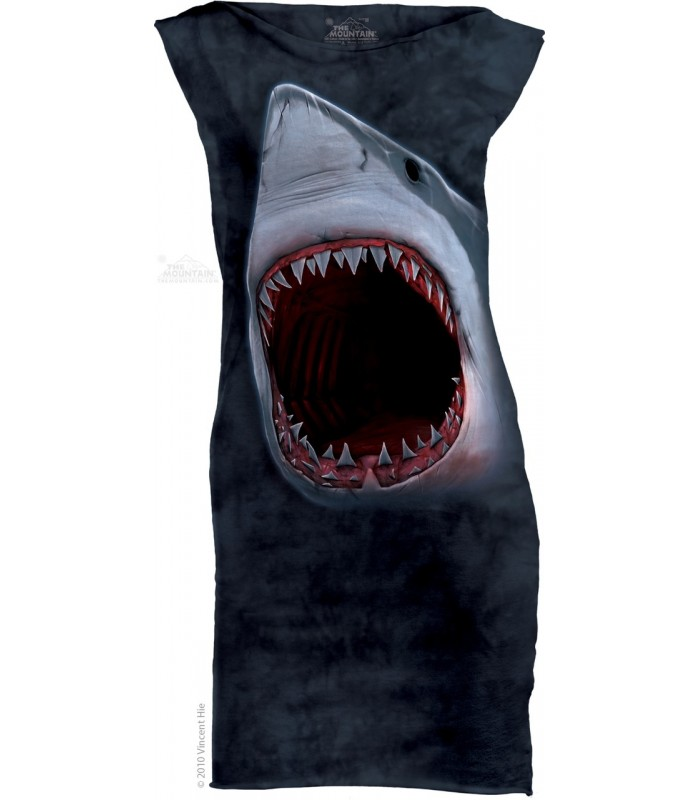 Shark Bite - Womens Mini Dress The Mountain
