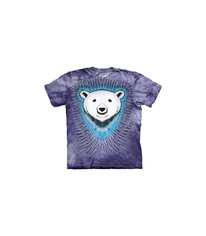 Polar Bear Tie-Dye - Animals T Shirt by the Mountain