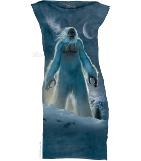 Yeti - Womens Mini Dress The Mountain