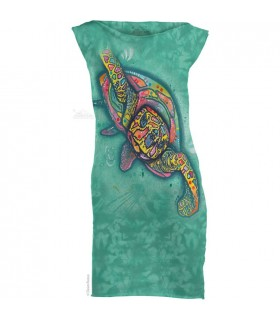 Russo Turtle - Womens Mini Dress The Mountain