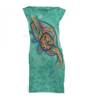 Russo Turtle - Womens Mini Dress The Mountain
