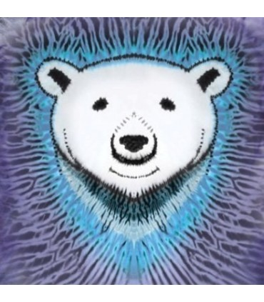 Polar Bear Tie-Dye - Animals T Shirt by the Mountain