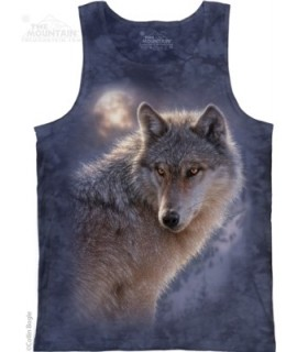 Adventure Wolf - Tank Top The Mountain