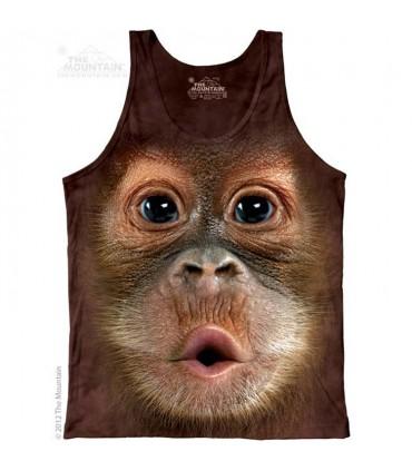 Big Face Baby Orangutan - Tank Top The Mountain