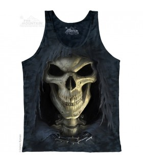 Big Face Death - Tank Top The Mountain
