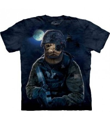 T-Shirt Navy Seal par The Mountain