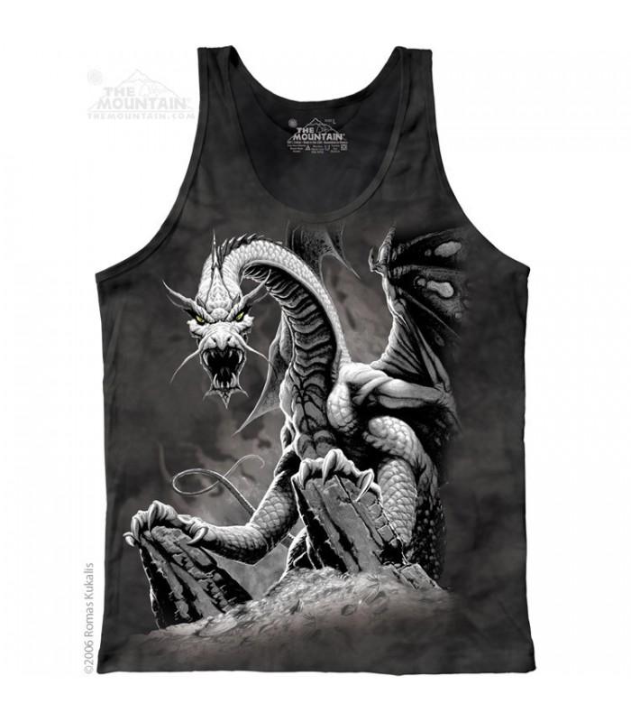 Débardeur Dragon Noir The Mountain