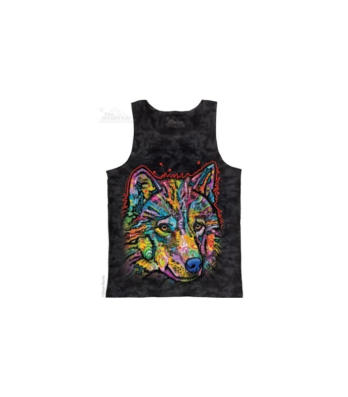 Happy Wolf - Tank Top The Mountain
