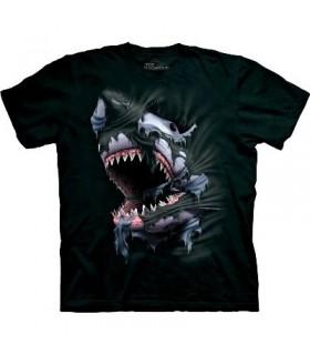 T-Shirt Requin par The Mountain