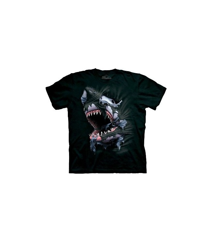 Breakthrough Shark - Zoo Animals T Shirt by the Mountain