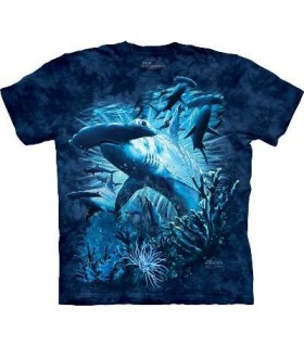 T-Shirt Requin Marteau par The Mountain