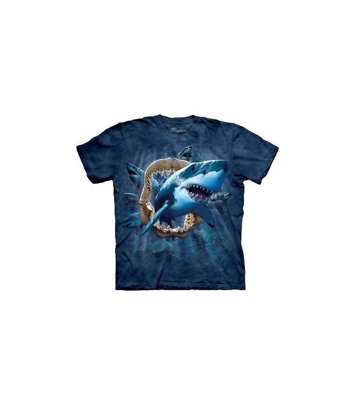 T-Shirt Attaque du Requin par The Mountain