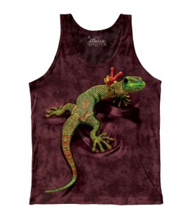 Peace Out Gecko - Tank Top The Mountain