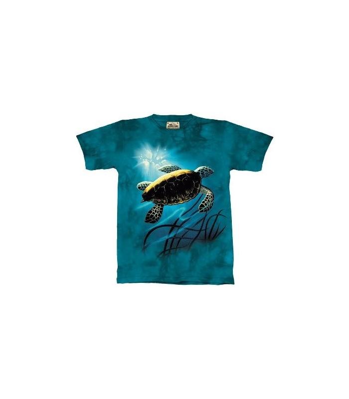 T-Shirt Tortue de Mer par The Mountain
