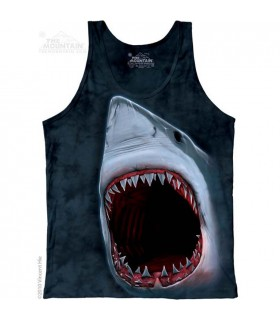 Shark Bite - Tank Top The Mountain