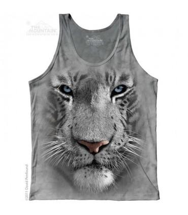 Débardeur Tigre Blanc The Mountain