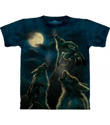 3 Werewolf Moon - Fantasy T Shirt by the Mountain