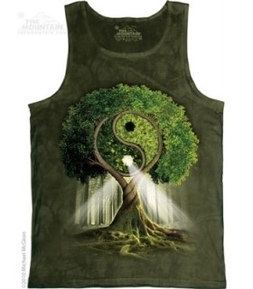 Yin Yang Tree - Tank Top The Mountain